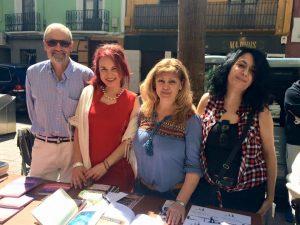 Firmas de libros: Isabel Campo, Ada del Ahua, Mª Carmen Latorre, Miguel A. Ballarín