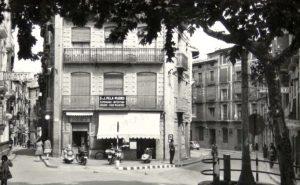 Foto antigua Librería Moisés - Barbastro 003